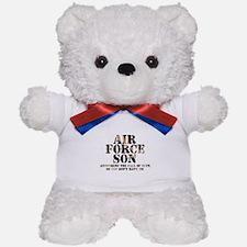 AF Son Answering Teddy Bear