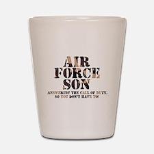 AF Son Answering Shot Glass