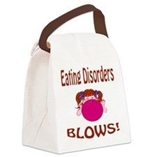 Eating Disorders Blow! Canvas Lunch Bag