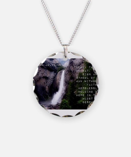 There Then He Sat - Herman Melville Necklace