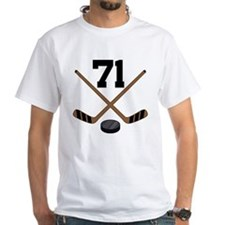 Hockey Player Number 71 Shirt