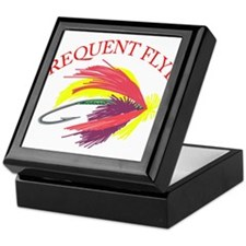 Frequent Flyer Keepsake Box
