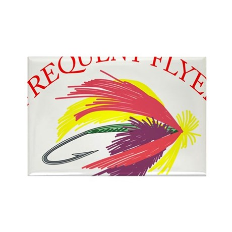 Frequent Flyer Rectangle Magnet