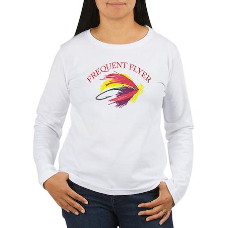 Frequent Flyer Women's Long Sleeve T-Shirt