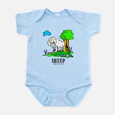 Cartoon Sheep by Lorenzo Body Suit