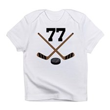 Hockey Player Number 77 Infant T-Shirt