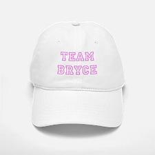 Pink team Bryce Baseball Baseball Cap