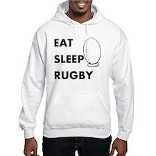 Eat Sleep Rugby Hoodie