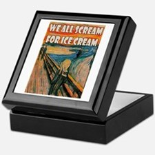 We All Scream Keepsake Box