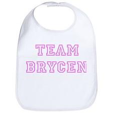 Pink team Brycen Bib