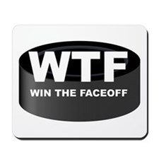 Win The Faceoff Mousepad