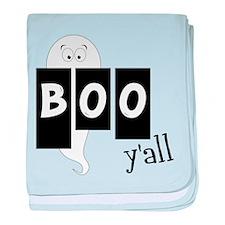 Boo 'Yall baby blanket