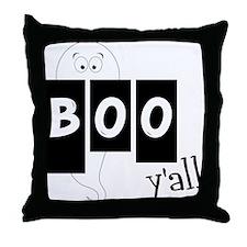 Boo 'Yall Throw Pillow