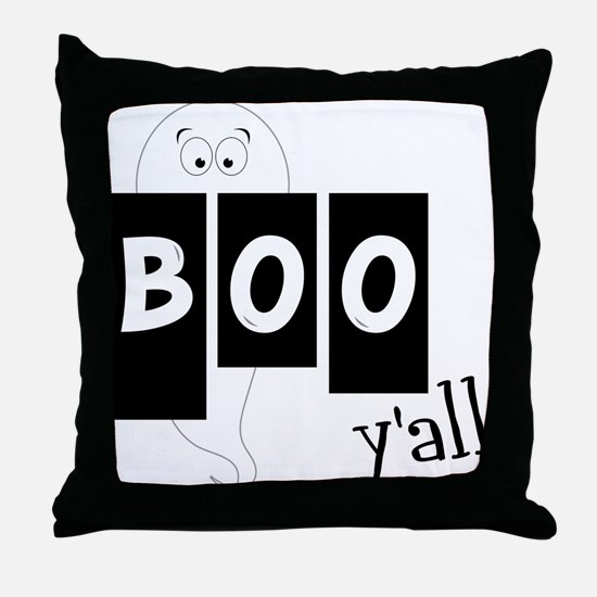 Boo 'Yall Throw Pillow