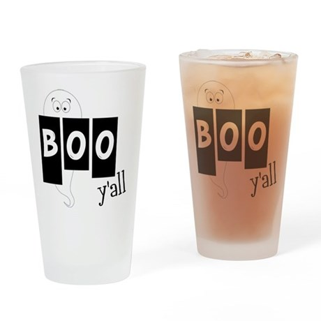 Boo 'Yall Drinking Glass