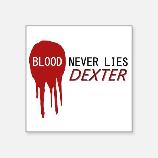 "Dexter Square Sticker 3"" x 3"""