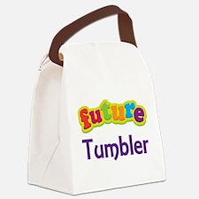 Future Tumbler Canvas Lunch Bag