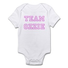 Pink team Ozzie Infant Bodysuit