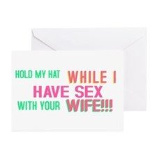 Taint one taint the other Greeting Cards (Pk of 10