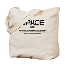 Space is Big Tote Bag