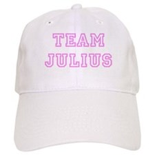 Pink team Julius Baseball Cap