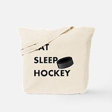 Eat Sleep Hockey Tote Bag