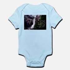Optimism Is The Faith - Helen Keller Infant Bodysu