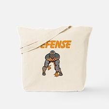 Football Defense Tote Bag