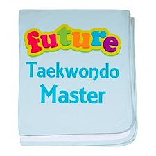 Future Taekwondo Master baby blanket
