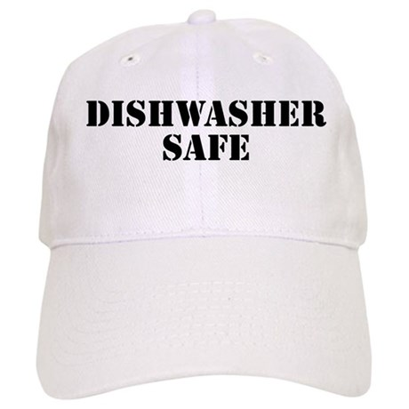 how to clean baseball caps in dishwasher