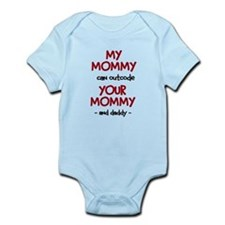 My Mommy can outcode Your Mommy and daddy Infant B