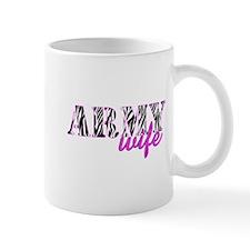 Army Wife Zebra Mug