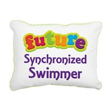 Future Synchronized Swimmer Rectangular Canvas Pil