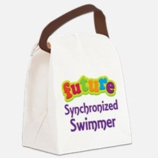 Future Synchronized Swimmer Canvas Lunch Bag