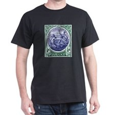 1916 Barbados Neptune Postage Stamp T-Shirt
