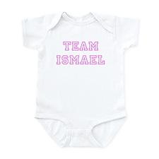 Pink team Ismael Infant Bodysuit