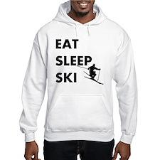 Eat Sleep Ski Hoodie Sweatshirt