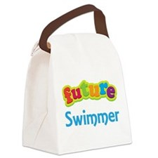 Future Swimmer Canvas Lunch Bag