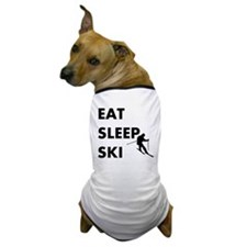Eat Sleep Ski Dog T-Shirt