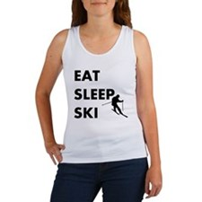 Eat Sleep Ski Women's Tank Top