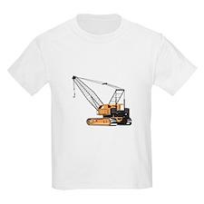 Construction Crane Hoist Retro T-Shirt