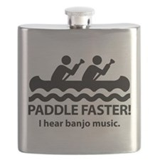 Paddle Faster I Hear Banjo Music. Flask