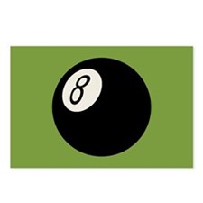 Retro 8-Ball Postcards (Package of 8)