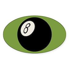 Retro 8-Ball Decal