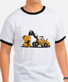 Front End Loader Digger Excavator Retro T