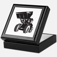 Front End Loader Digger Excavator Retro Keepsake B