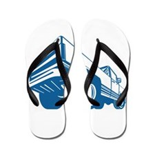 Pickup Truck Rear Retro Flip Flops