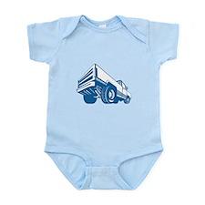 Pickup Truck Rear Retro Infant Bodysuit