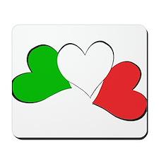 Italian Hearts Mousepad