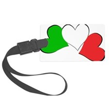 Italian Hearts Luggage Tag